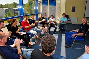 Účastníci výcvikového kurzu